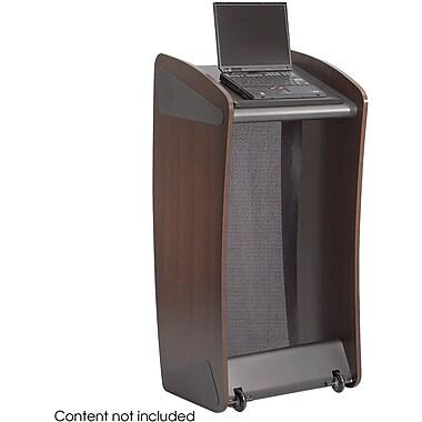 Safco® 8913 Ovation Lectern, Mahogany