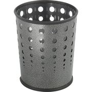 Safco® 9740 Bubble Wastebasket, Black Speckle
