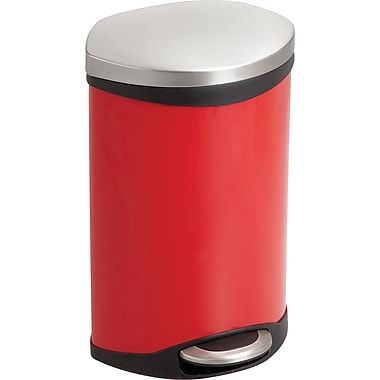 Safco® 9901 Medical Receptacle, Red, 3 gal.