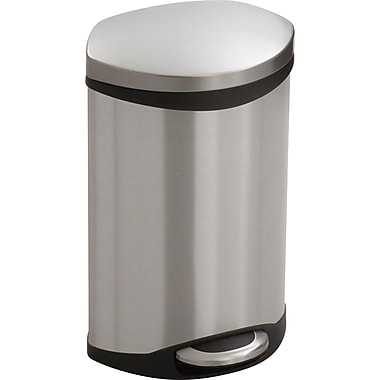 Safco® 9901 Medical Receptacle, Stainless Steel, 3 gal.