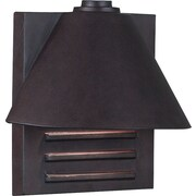 Kenroy Home Fairbanks 1 Light Small Wall Lantern, Copper Finish