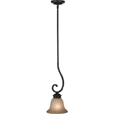 Kenroy Home Oliver 1 Light Mini Pendant, Oil Rubbed Bronze Finish