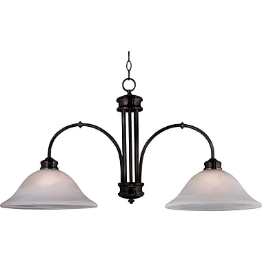 Kenroy Home Winterton 2 Light Island Light, Oil Rubbed Bronze Finish