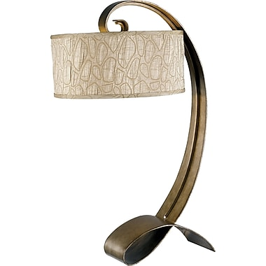 Kenroy Home Remy Table Lamp, Smoked Bronze Finish
