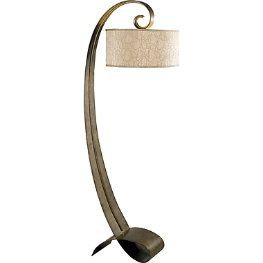 Kenroy Home Remy Floor Lamp, Smoke Bronze Finish