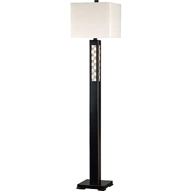 Kenroy Home Windowpane Floor Lamp, Oil Rubbed Bronze Finish