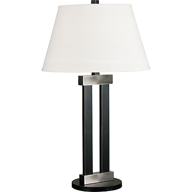 Kenroy Home Bainbridge Table Lamp, Oil Rubbed Bronze Finish with Brushed Nickel Accents