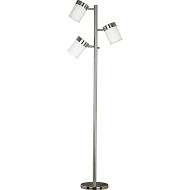Kenroy Home Roarke Tree Lamp, Brushed Steel Finish