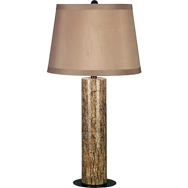 Kenroy Home Russo Table Lamp, Marble Finish with Copper Bronze Accents