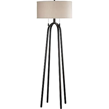 Kenroy Home Sheaf Quadratic Floor Lamp, Oil Rubbed Bronze Finish