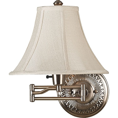 Kenroy Home Amherst Wall Swing Arm Lamps