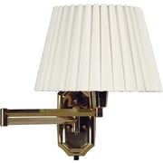 Kenroy Home Traditions Wall Swing Arm Lamp, Polished Brass Finish
