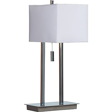 Kenroy Home Emilio Accent Lamp, Chrome Finish