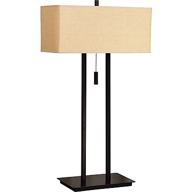 Kenroy Home Emilio Table Lamp, Bronze Finish