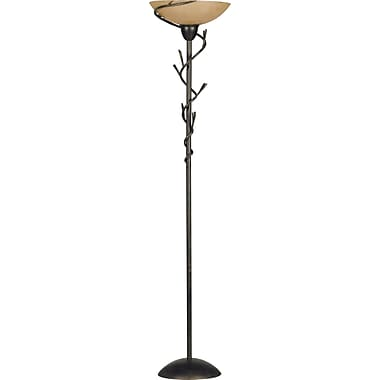 Kenroy Home Twigs Torchiere, Bronze Finish