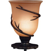 Kenroy Home Twigs Table Torchiere, Bronze Finish