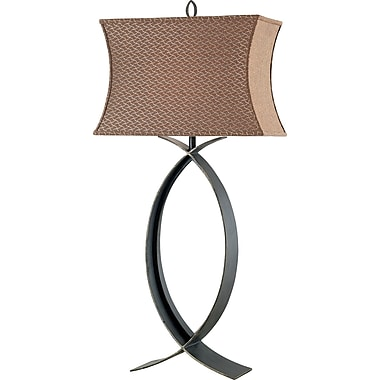 Kenroy Home Pisces Table Lamp, Oxidized Bronze Finish