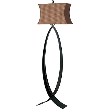 Kenroy Home Pisces Floor Lamp, Oxidized Bronze Finish