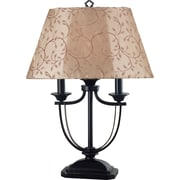 Kenroy Home Belmont Outdoor Table Lamp, Oil Rubbed Bronze Finish