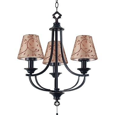 Kenroy Home Belmont Outdoor Chandelier, Oil Rubbed Bronze Finish