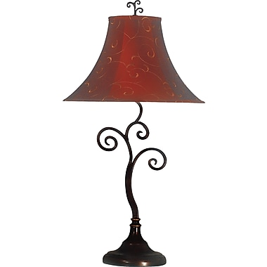 Kenroy Home Richardson Table Lamp, Bronze Finish