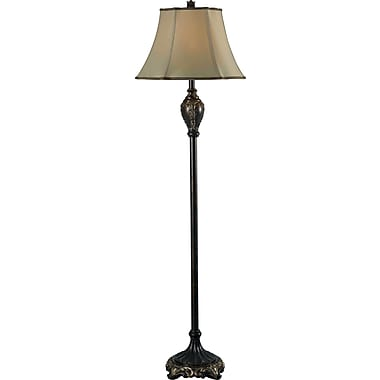 Kenroy Home Contessa Floor Lamp, Bronze Gold Finish