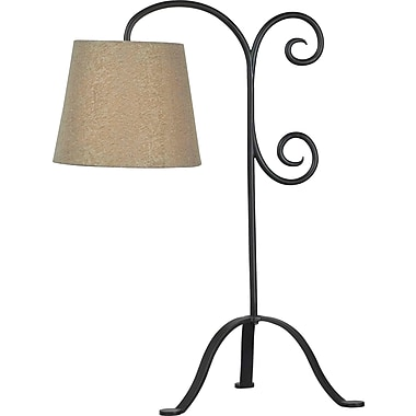 Kenroy Home Morrison Table Lamp, Bronze Graphite Finish