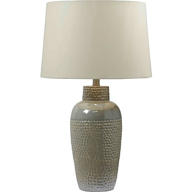 Kenroy Home Facade Table Lamp, Iridescent Ceramic Finish