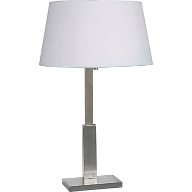 Kenroy Home Aegis Table Lamp, Brushed Steel Finish