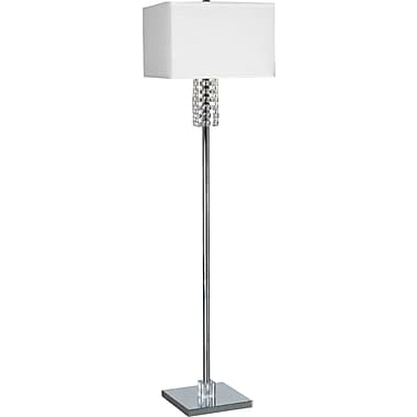 Kenroy Home Bedazzle Floor Lamp, Chrome Finish