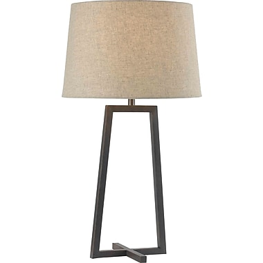 Kenroy Home Ranger Table Lamp, Oil Rubbed Bronze Finish