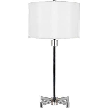 Kenroy Home Rogue Table Lamp, Chrome Finish