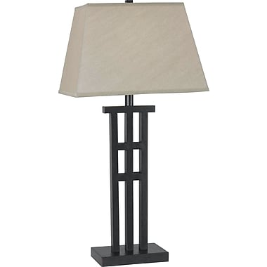 Kenroy Home McIntosh Table Lamp, Bronze Finish