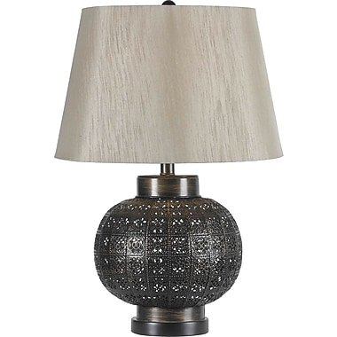 Kenroy Home Seville Table Lamp, Aged Bronze Finish