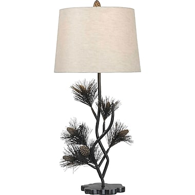 Kenroy Home Balsam Table Lamp, Aged Bronze Finish