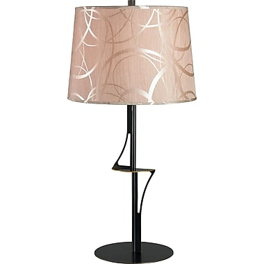 Kenroy Home Spinner Table Lamp, Oxidized Bronze Finish