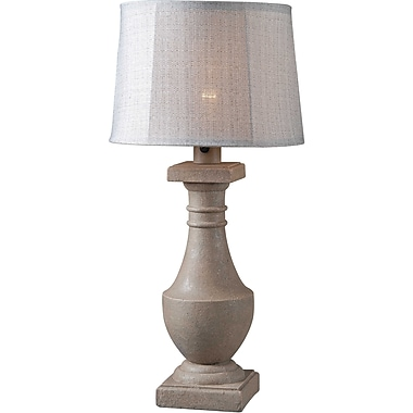 Kenroy Home Patio Outdoor Table Lamp, Coquina Finish
