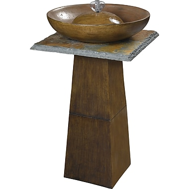 Kenroy Home Ferris Outdoor Floor Fountain, Bronze Finish