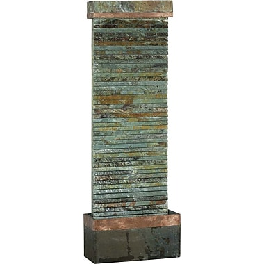 Kenroy Home Castle Rock Floor Fountain, Slate Copper Finish