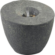 Kenroy Home Magma Outdoor Floor Fountain, Natural Rock Finish