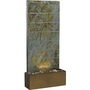 Kenroy Home Brook Floor/Wall Fountain, Natural Slate Finish
