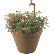 Kenroy Home Full Bloom Outdoor Fountain, Terra Cotta Finish