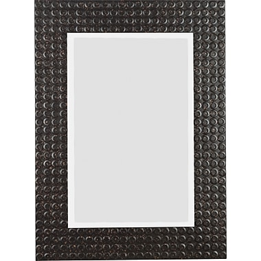 Kenroy Home Murphy Wall Mirror, Black Multi-Finish
