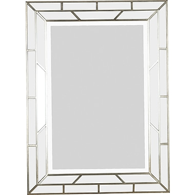 Kenroy Home Lens Wall Mirror, Silver Finish
