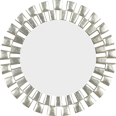 Kenroy Home Gilbert Wall Mirror, Silver Finish