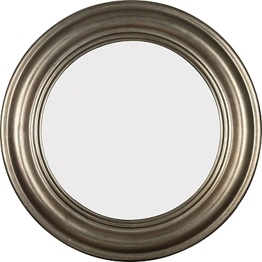 Kenroy Home Nob Hill Wall Mirror, Antique Silver Finish