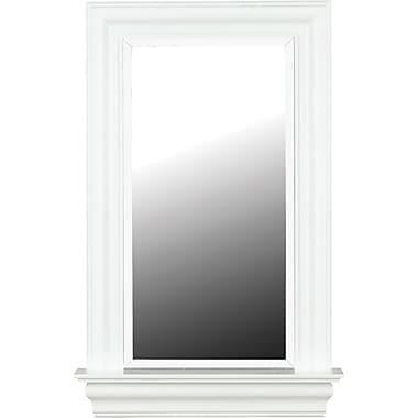 Kenroy Home Juliet Wall Mirror, White Gloss Finish