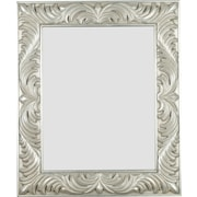 Kenroy Home Antoinette Wall Mirror, Gilded Antique Silver Finish