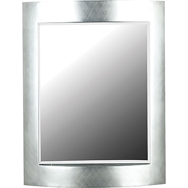 Kenroy Home Sacramento Wall Mirror, Silver Finish
