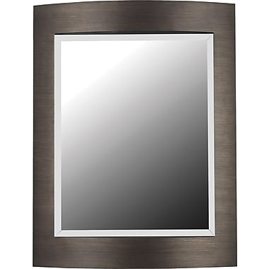 Kenroy Home Folsom Wall Mirror, Brushed Bronze Finish